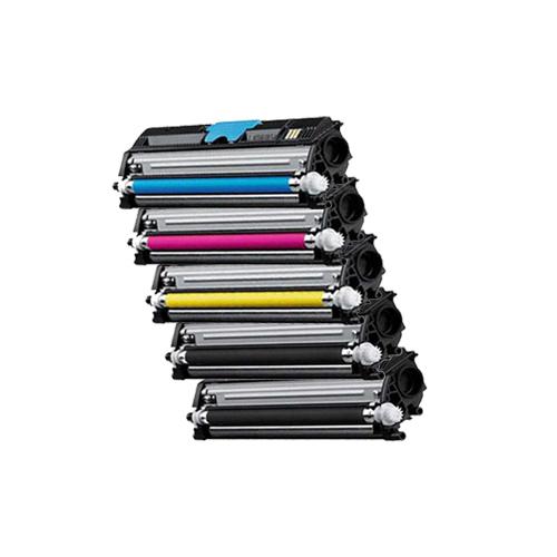 Farbset-5x-Toner-XL-ProSerie-fuer-Epson-Aculaser-CX16NF