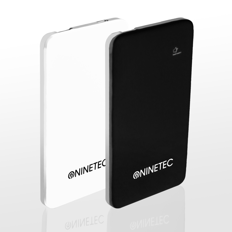 2x-NINETEC-PowerBank-Akku-Ladegeraet-Powerstation-fuer-LG-G2-schwarz-weiss-NT004