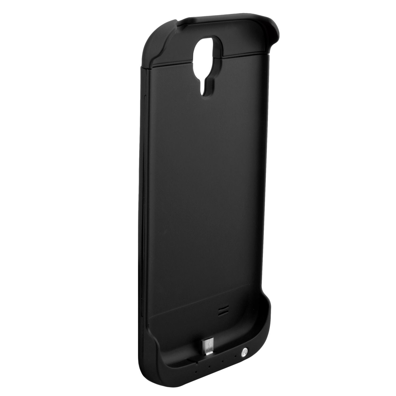 NINETEC-3200mAh-PowerCase-Schutzhuelle-Akkufunktion-fuer-Samsung-Galaxy-S4-Black