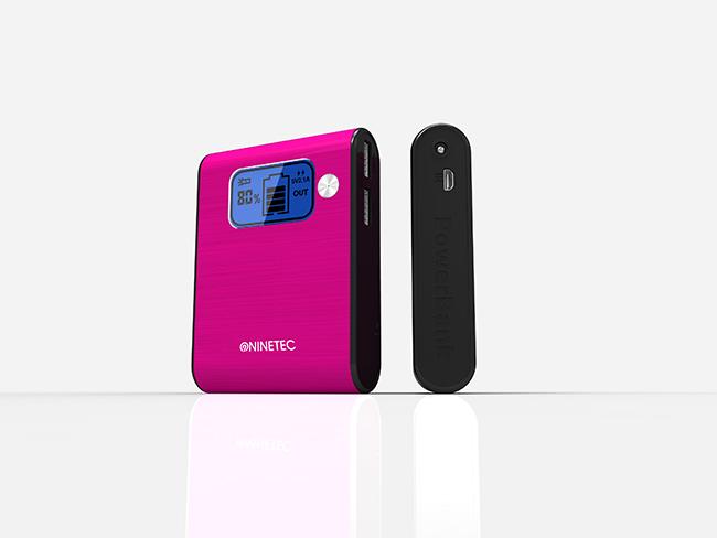 NINETEC-10-000mAh-PowerBank-Mobiler-Akku-Ladegeraet-fuer-iPhone-4-4S-pink-NT-565