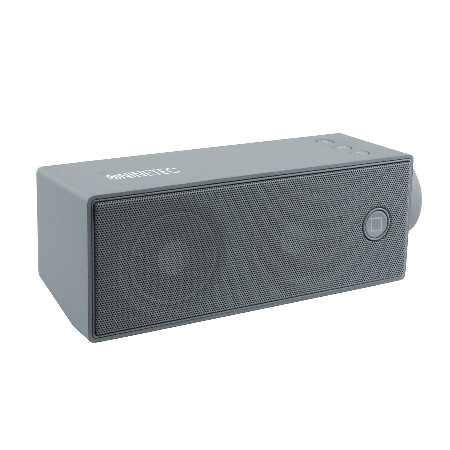 ninetec soundboost bluetooth speaker lautsprecher micro sd aux freisprechf grau ebay. Black Bedroom Furniture Sets. Home Design Ideas