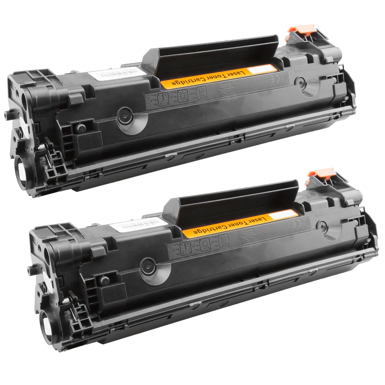 2x Toner XXL ProSerie kompatibel zu HP CB435A 35A