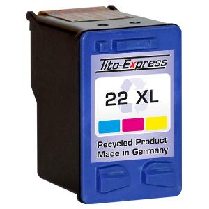 Druckerpatrone XXL recycled ProSerie. Ersetzt HP 22