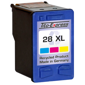 Druckerpatrone XXL recycled ProSerie. Ersetzt HP 28