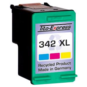 Druckerpatrone XXL recycled ProSerie. Ersetzt HP 342