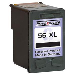 Druckerpatrone XXL recycled ProSerie. Ersetzt HP 56