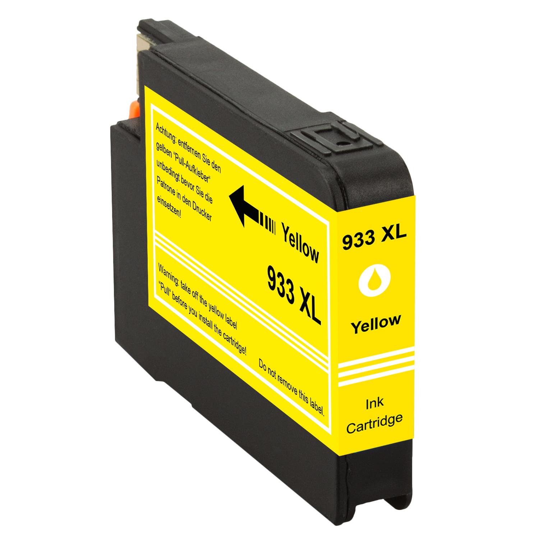 Druckerpatrone XXL ProSerie kompatibel zu HP 933XL yellow