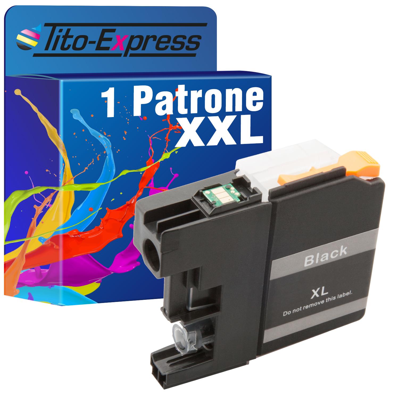1 Patrone XXL ProSerie kompatibel zu Brother LC227 Black