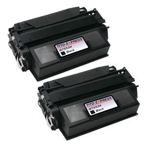 2x Toner XXL ProSerie kompatibel zu HP Q7553X 53X