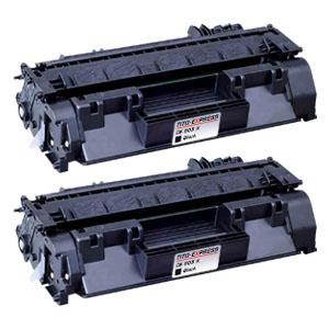 2x Toner XXL ProSerie kompatibel zu HP CE505X 05X