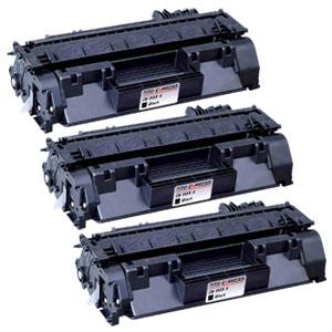 3x Toner XXL ProSerie kompatibel zu HP CE505X 05X