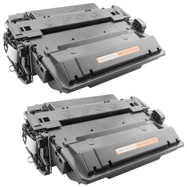 2x Toner XXL ProSerie kompatibel zu HP CE255X 55X