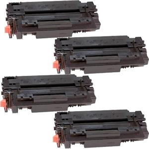 4x Toner XXL ProSerie kompatibel zu HP Q7551X 51X