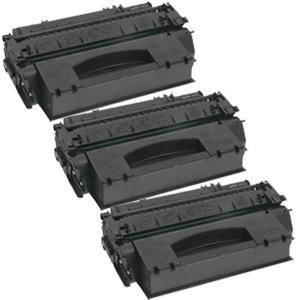 3x Toner XXL ProSerie kompatibel zu HP Q5949X 49X