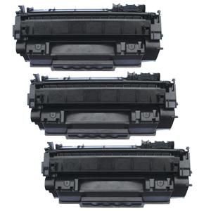 3x Toner XXL ProSerie kompatibel zu HP CE505A 05A