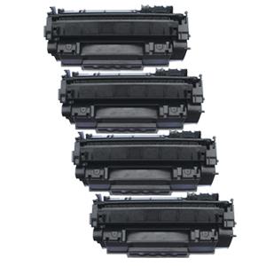 4x Toner XXL ProSerie kompatibel zu HP CE505A 05A