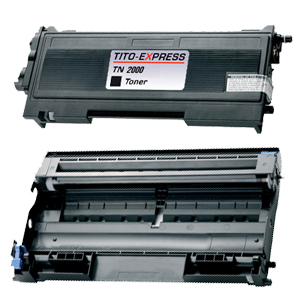 Trommel & Toner XL kompatibel zu Brother TN-2000 & DR-2000