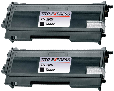 2x Toner XL ProSerie kompatibel zu Brother TN-2000
