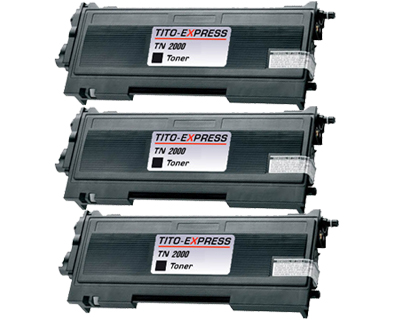 3x Toner XL ProSerie kompatibel zu Brother TN-2000
