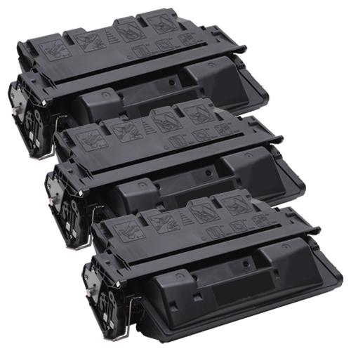 3x Toner XXL ProSerie kompatibel zu HP C8061X 61X