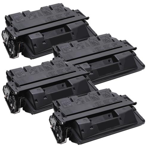 4x Toner XXL ProSerie kompatibel zu HP C8061X 61X