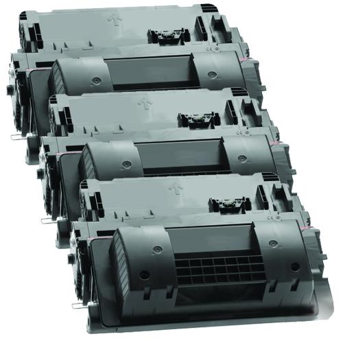 3x Toner XXL ProSerie kompatibel zu HP CE390X 90X
