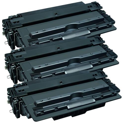 3x Toner XXL ProSerie kompatibel zu HP Q7516A 16A
