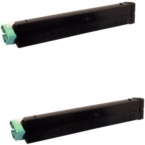2 Toner XL ProSerie kompatibel zu Oki 43502302, B4400, B4600