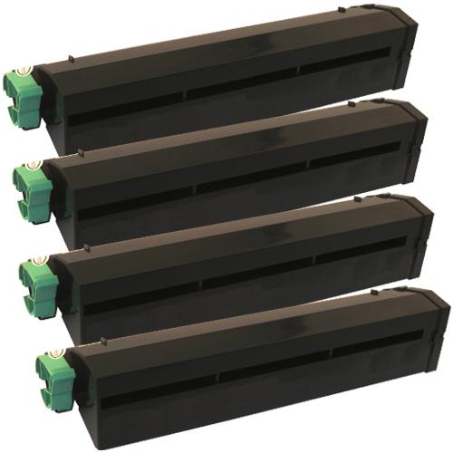 4x Toner XXL ProSerie kompatibel zu Oki 01101202, B4300