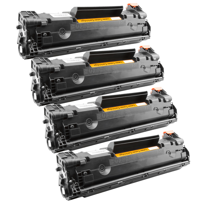 4x Toner XXL ProSerie kompatibel zu HP CB436A 36A