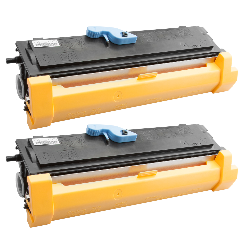 2x Toner XXL ProSerie kompatibel zu Epson C13S050166, EPL6200