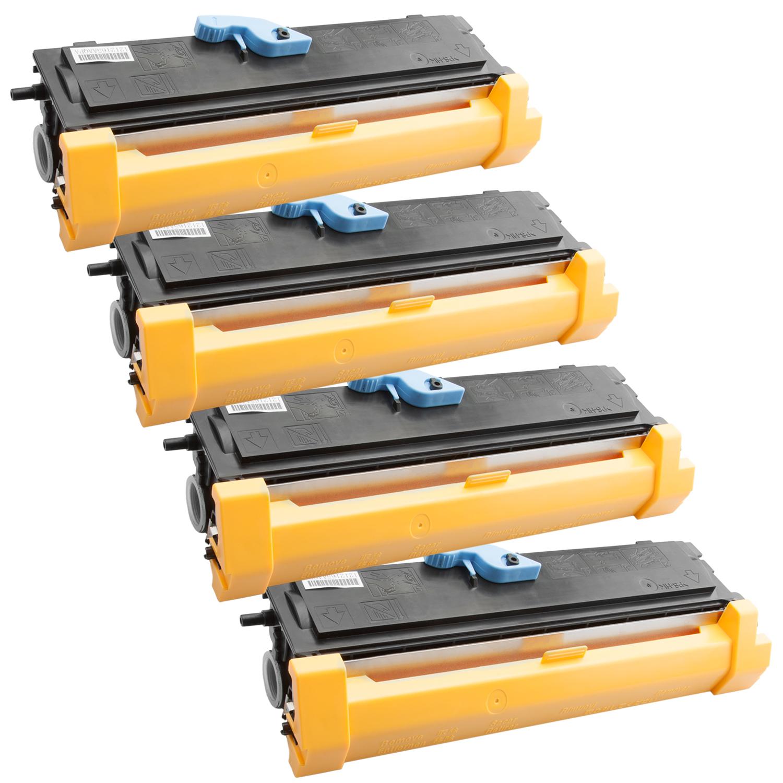 4x Toner XXL ProSerie kompatibel zu Epson C13S050166, EPL6200