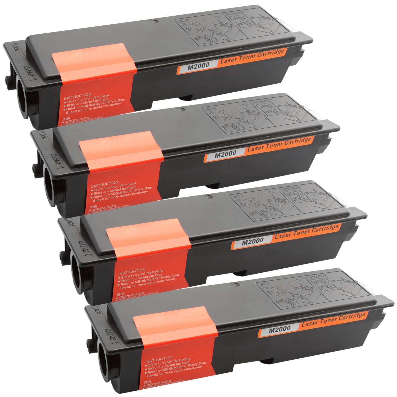 4x Toner XXL ProSerie kompatibel zu Epson C13S050435, M2000