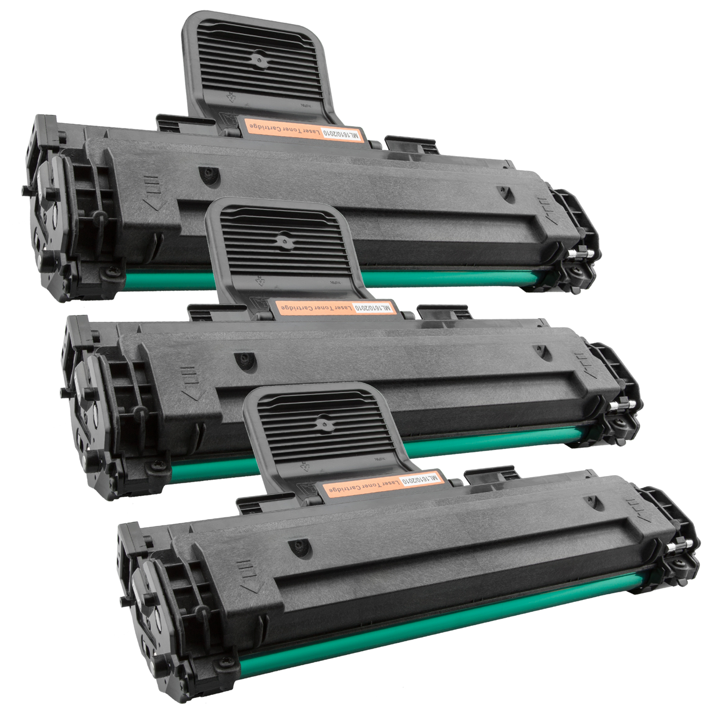 3x Toner XXL ProSerie kompatibel zu Samsung ML-1610 / ML-2010