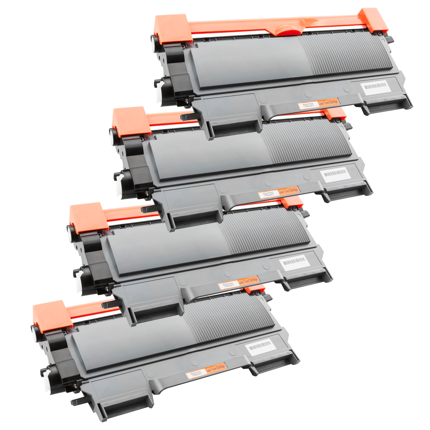 4x Toner SuperXL ProSerie kompatibel zu Brother TN-2220