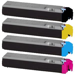 Set 4 Toner XXL ProSerie kompatibel zu Kyocera TK-510K, TK-510C, TK-510M, TK-510Y