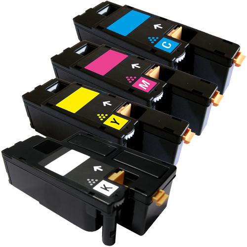 Set 4 Toner XXL ProSerie kompatibel zu Xerox 6000K, 6000C, 6000M, 6000Y