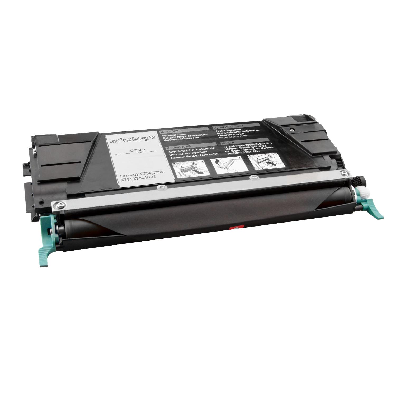1 Toner XXL Black ProSerie kompatibel zu Lexmark C734K