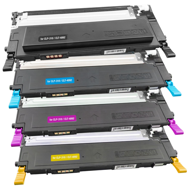 Set 4 Toner XXL ProSerie kompatibel zu Dell 1230K, 1230C, 1230M, 1230Y