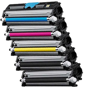 Set 5 Toner XXL ProSerie kompatibel zu Xerox 6121K, 6121C, 6121M, 6121Y