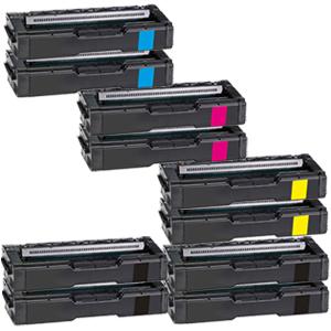 Set 10 Toner XXL ProSerie kompatibel zu Kyocera TK-150K, TK-150C, TK-150M, TK-150Y