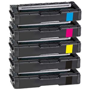 Set 5 Toner XXL ProSerie kompatibel zu Kyocera TK-150K, TK-150C, TK-150M, TK-150Y