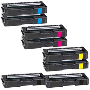 Set 8 Toner XXL ProSerie kompatibel zu Kyocera TK-150K, TK-150C, TK-150M, TK-150Y