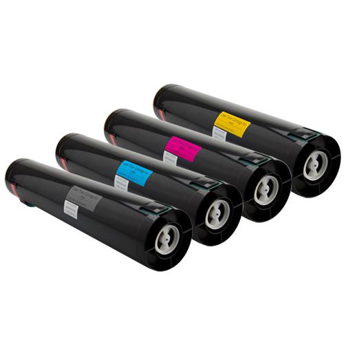 Set 4 Toner XXL ProSerie kompatibel zu Lexmark C935K, C935C, C935M, C935Y