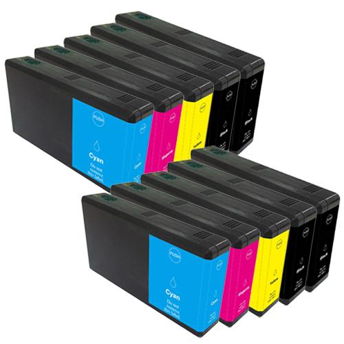Sparset 10 Patronen XXL ProSerie kompatibel zu Epson T7011-T7014