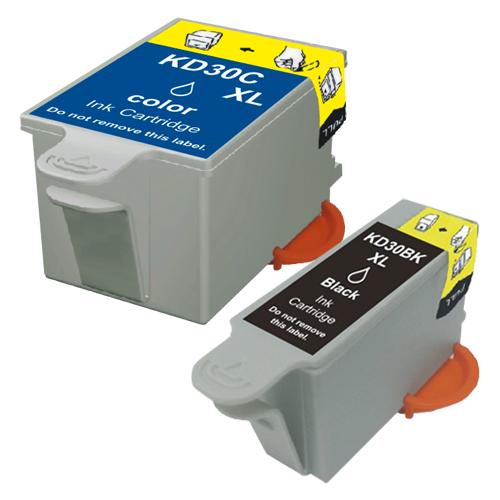 Sparset 2 Patronen XXL ProSerie kompatibel zu Kodak 30