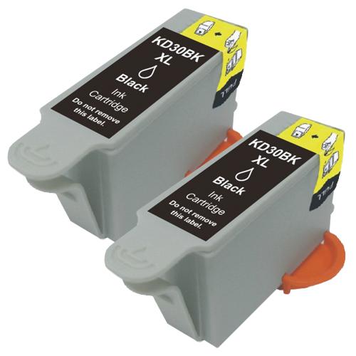 2x Druckerpatrone XXL ProSerie kompatibel zu Kodak 30 black