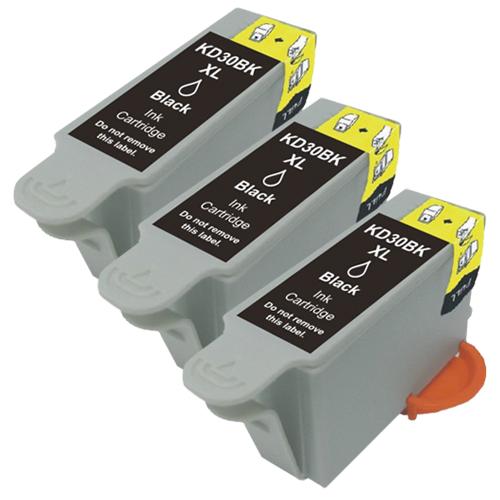 3x Druckerpatrone XXL ProSerie kompatibel zu Kodak 30 black