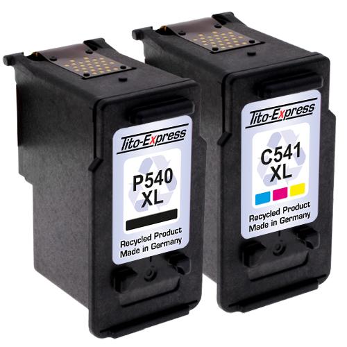 Sparset 2 Patronen XXL recycled ProSerie. Ersetzt Canon PG-540XL & CL-541XL