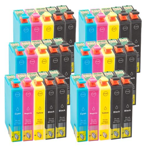 Sparset 30 Patronen XXL ProSerie kompatibel zu Epson T1281-T1284